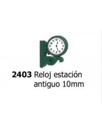 RELOJ DE ESTACIÓN ANTIGUO, ANESTE 2403