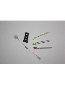 KIT SEÑAL BAJA CON 3 LED 3 mm, TRENCASTILLA TC SB01