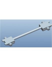 SET 10 ENGANCHES BARRA RECTA 17,5 mm, MFTRAIN N83033