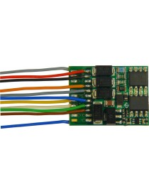 DECODIFICADOR DCC 8 PIN HO, ZIMO MX634R