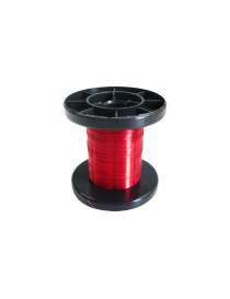 ROLLO 100 M. CABLE ROJO DE 0,15 MM, TRENCASTILLA TC 050202