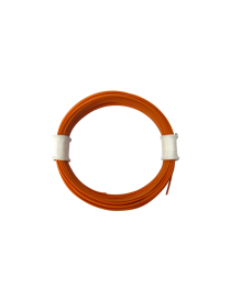 ROLLO 10 M. CABLE NARANJA DE 0,04 MM, TRENCASTILLA TC 05070205