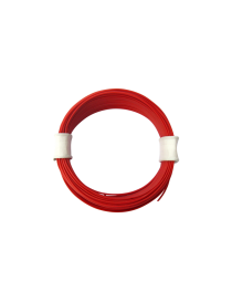 ROLLO 10 M. CABLE rojo DE 0,04 MM, TRENCASTILLA TC 05070201