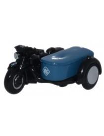 MOTO CON SYDECAR RAC, OXFORD NBSA002