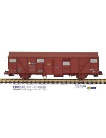 VAGON CERRADO RENFE Jfvc 601383, MABAR 81811
