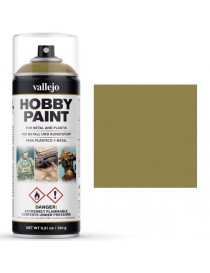 SPRAY HOBBY PAINT DUNKELGELB 400 ML, VALLEJO 28.001