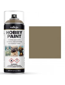 SPRAY HOBBY PAINT MARRÓN CAQUI 400 ML, VALLEJO 28.009