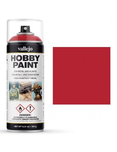 SPRAY HOBBY ROJO SANGUINA 400 ML, VALLEJO 28.023