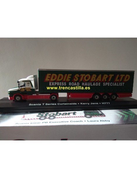 CAMION SCANIA T CAB CURTAINSIDE EDDIE STOBART, OXFORD 4649110
