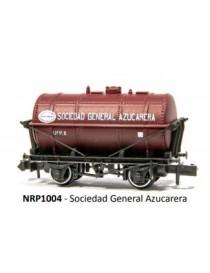 VAGÓN CISTERNA SOCIEDAD GENERAL AZUCARERA, PECO PNRP1004