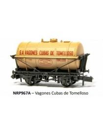 VAGÓN CUBAS DE TOMELLOSO, PECO PNRP967A