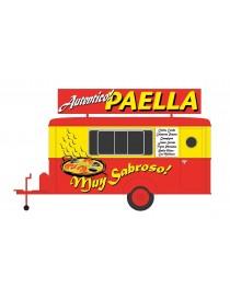 MOBILE TRAILER PAELLA, OXFORD HN7004