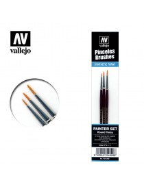 SET 3 PINCELES TORAY, VALLEJO P54.999