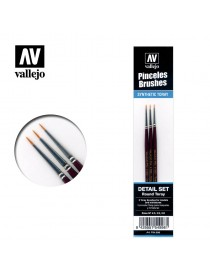 SET 3 PINCELES TORAY, VALLEJO P54.998
