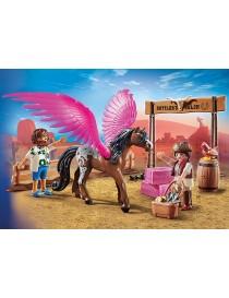 PLAYMOBIL® 70074 THE MOVIE MARLA, DEL Y CABALLO CON ALAS
