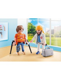 PLAYMOBIL® 70079 DUO PACK DOCTOR Y PACIENTE