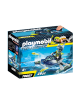 PLAYMOBIL® 70007 TEAM S.H.A.R.K. NAVE COHETE