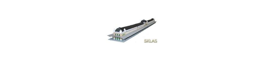 Estaciones, Puentes y Accesorios fabricados en Laser