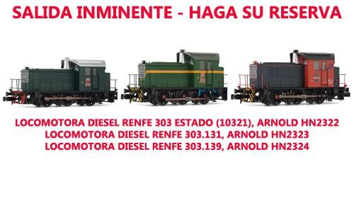 Locomotora 303 Arnold