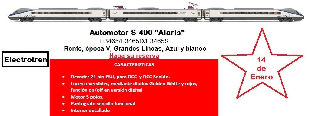 Alaris S-490 de Electrotren