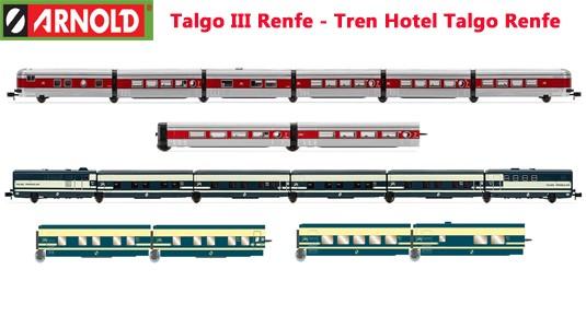 Talgo III Renfe y Tren Hotel Talgo Renfe