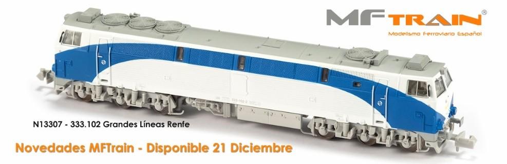 Locomotora Diesel Renfe GRANDES LÍNEAS